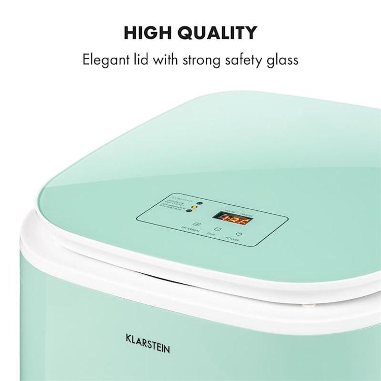 Zap Dry, sušička bielizne, 820 W, 50 l, dotykový ovládací panel, LED displej, zelená Zelená