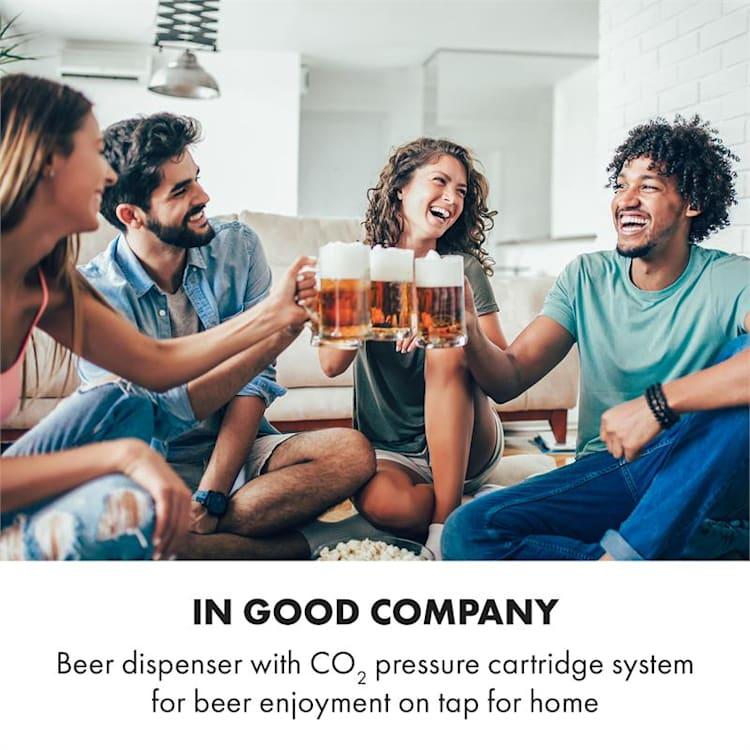 Beerkules, sörcsap, 5l hordó,kompresszor, 120W, fekete