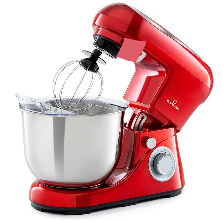 Bella Pico 2G Küchenmaschine 1200W 1,6PS 6 Stufen 5 Liter Rot
