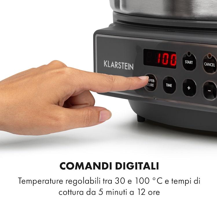Lady Marmalade Pastorizzatore Dispenser Bevande 27L 100°C 12h Inox