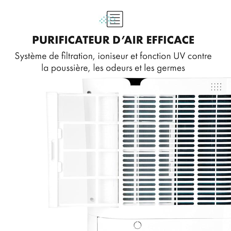 DryFy Connect déshumidificateur WiFi compression 20 l/j 20 m² 370 W blanc Blanc