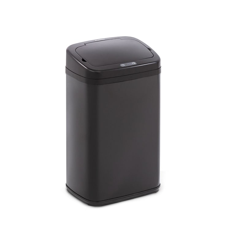 Cleansmann Mülleimer Sensor 30 Liter für Müllbeutel ABS Edelstahl schwarz Schwarz | 30 Ltr