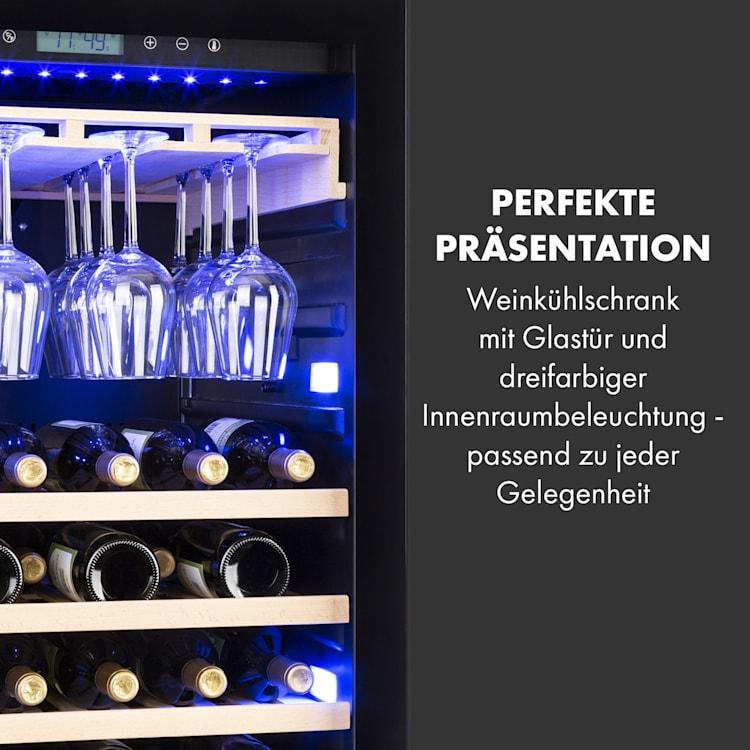 Vinovilla Onyx Grande Großraum-Weinkühlschrank 433l 165Fl. schwarz 433 Ltr   1 Kühlzone