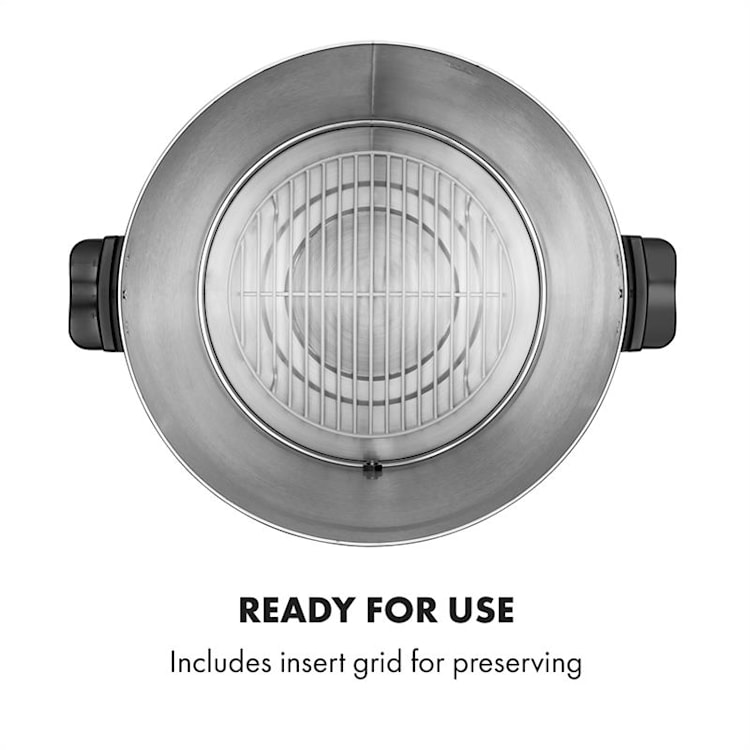 KonfiStar 60 Digital Pastorizzatore e Dispenser 60L 100°C 180min 60 Ltr