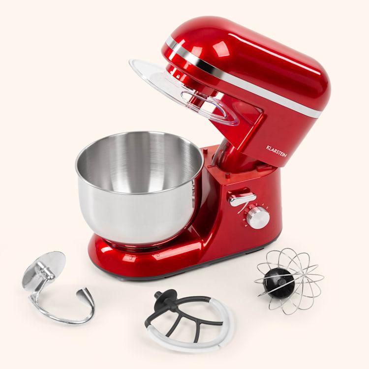 Bella Elegance, kuchyňský robot, 1300 W, 1,7 HP, 6 stupňů, 5 litrů, červený Červená