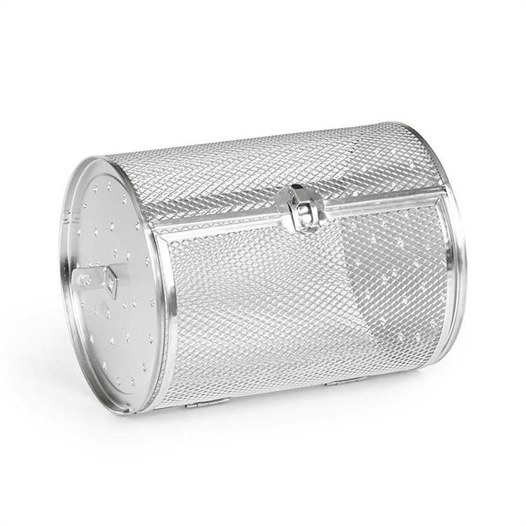 AeroVital Cube Chef Heißluftfritteuse Drehkorb Zubehör Edelstahl