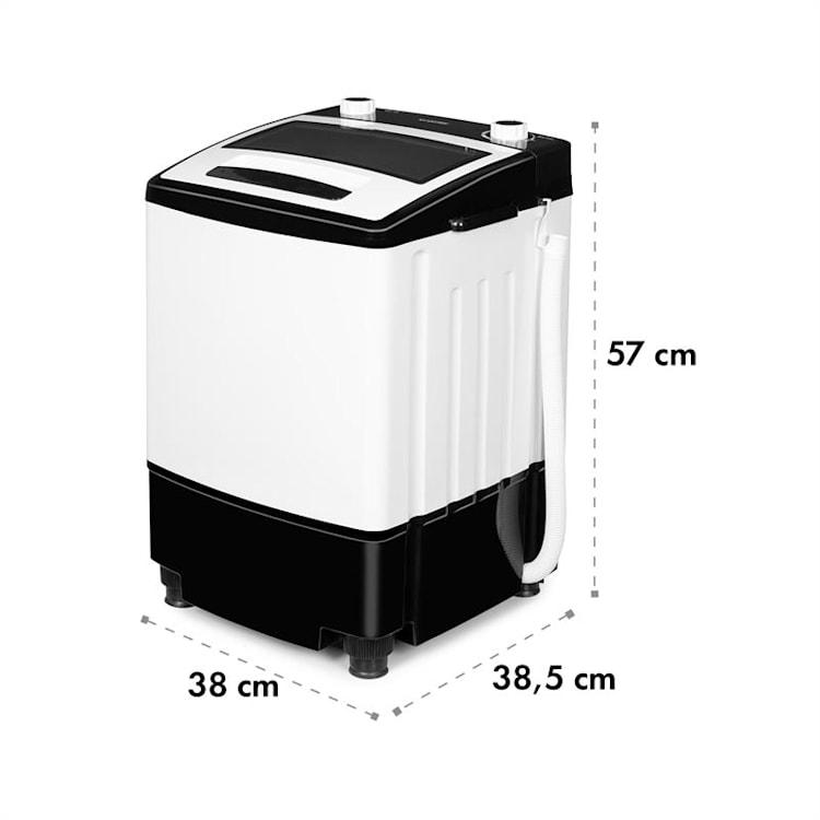 Bubble Boost Lavadora 380W 3,5kg Temporizador 0-10min Color negro