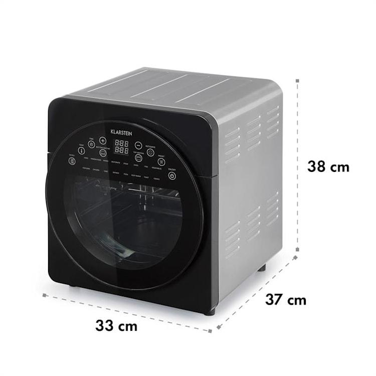 AeroVital easy touch, frytownica na gorące powietrze, 16 programów, 1700 W, 14 l, czarna Matalik