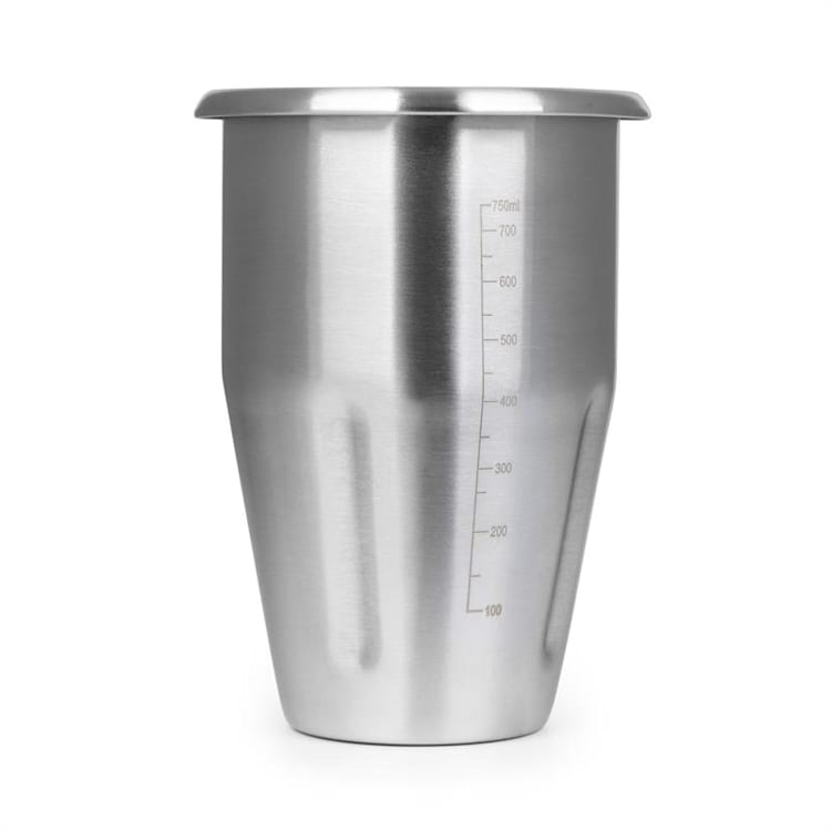 Kraftprotz Edelstahlbecher Zubehör 1 Liter Edelstahl silber