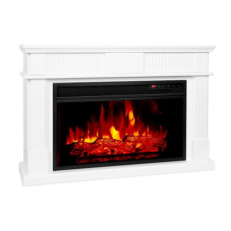 Bern Electric Fireplace 1000 / 2000W LED 10-30 ° C Weekly Timer