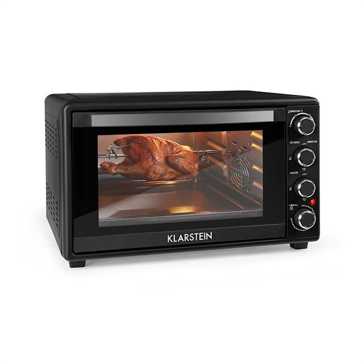 Masterchef 45 Mini Oven 45l 2000W 100-230 ° C Timer Black Black | 45 Ltr
