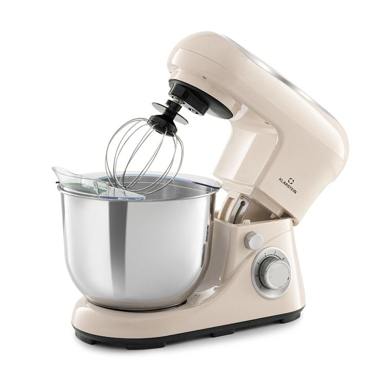Bella Pico 2G Küchenmaschine 1200W 1,6PS 6 Stufen 5 Liter Creme