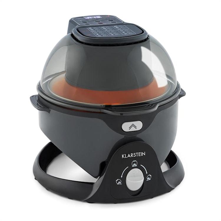 VitAir Pommesmaster friggitrice ad aria calda 360° 1400W 50-240°C timer Nero