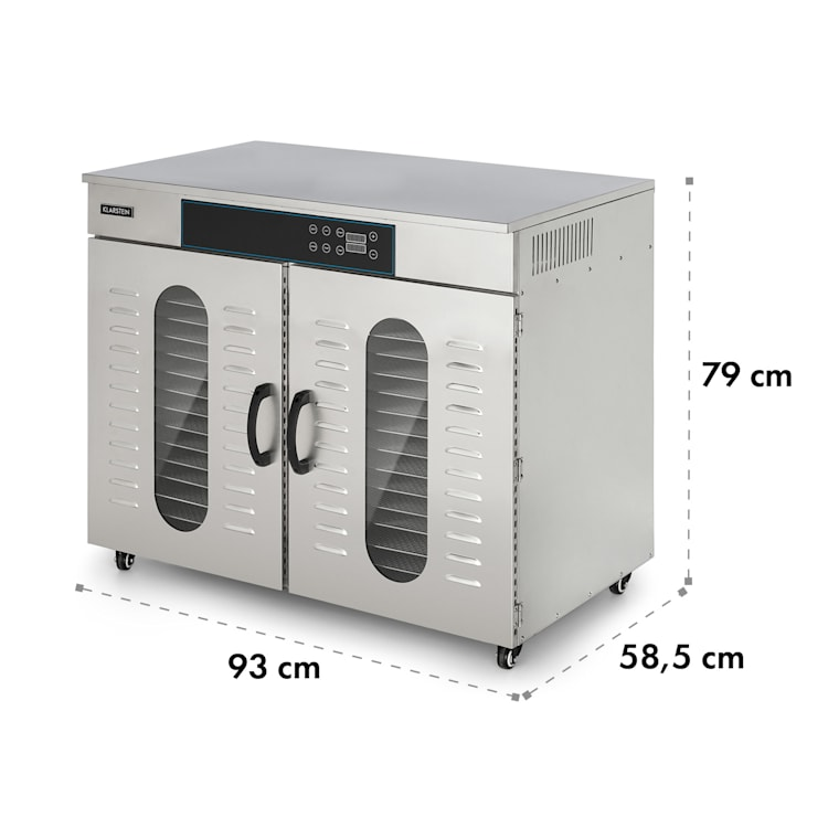Master Jerky 500 Déshydrateur alimentaire 32 étages 3000W 40-90 °C - i 32 étages