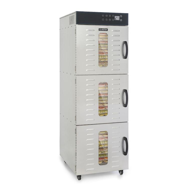 Master Jerky 550 Déshydrateur alimentaire 2400 W 40-90 °C inox argent 36 niveaux