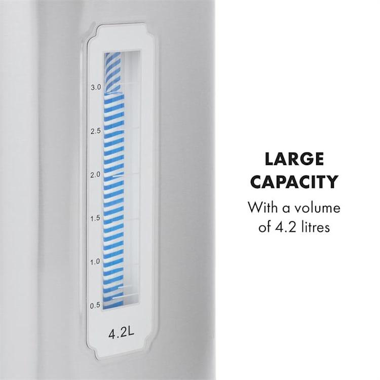 Hot Spring Dispensador de agua caliente 4,2l Depósito Acero Inoxidable Plateado 4,2 L