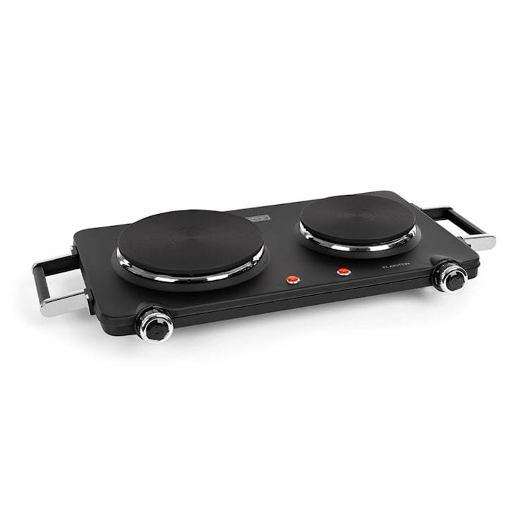 Cookorama, dupla főzőlap, 1900 - 2250 W, 150/180 mm Ø, 5 szint, fekete Fekete