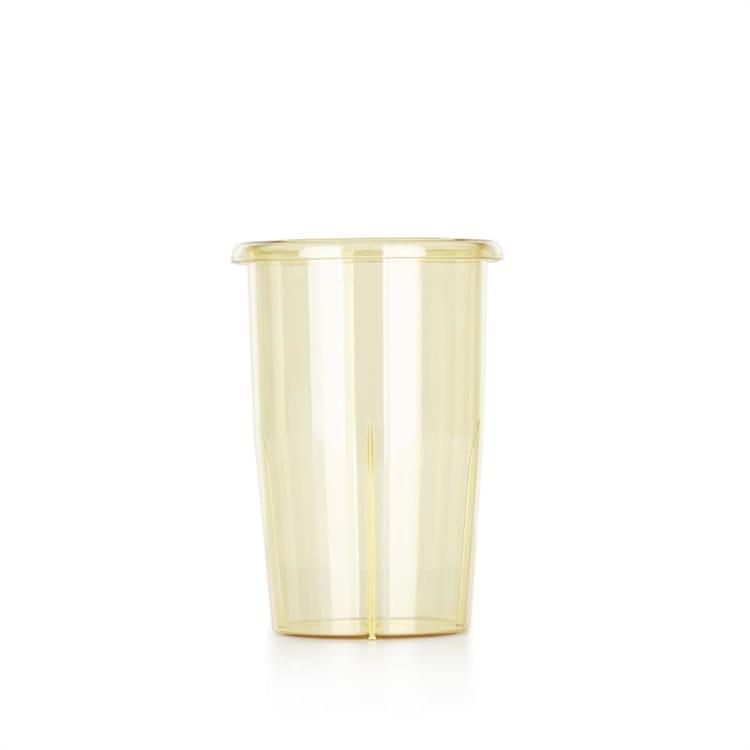 Kraftprotz Mixbecher Zubehör 0,9 Liter PVC gelb