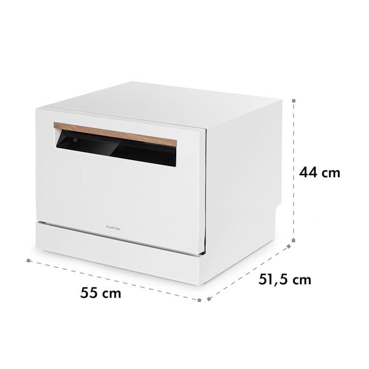 Lagoona lavastoviglie EEK A+ 1380W 6,5L 6 coperti bianco