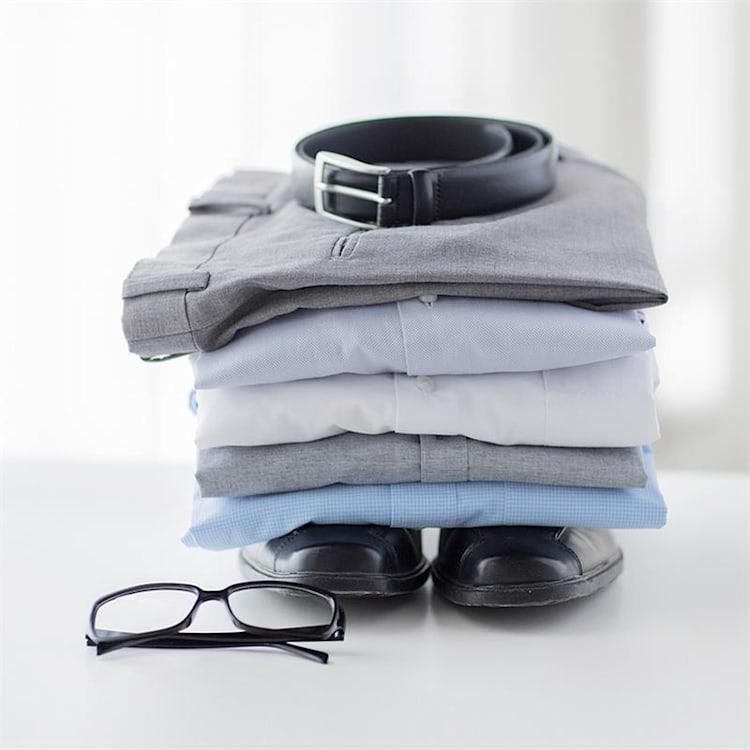 ShirtButler Pro reserve-shirt accessoire S-XL nylon wit