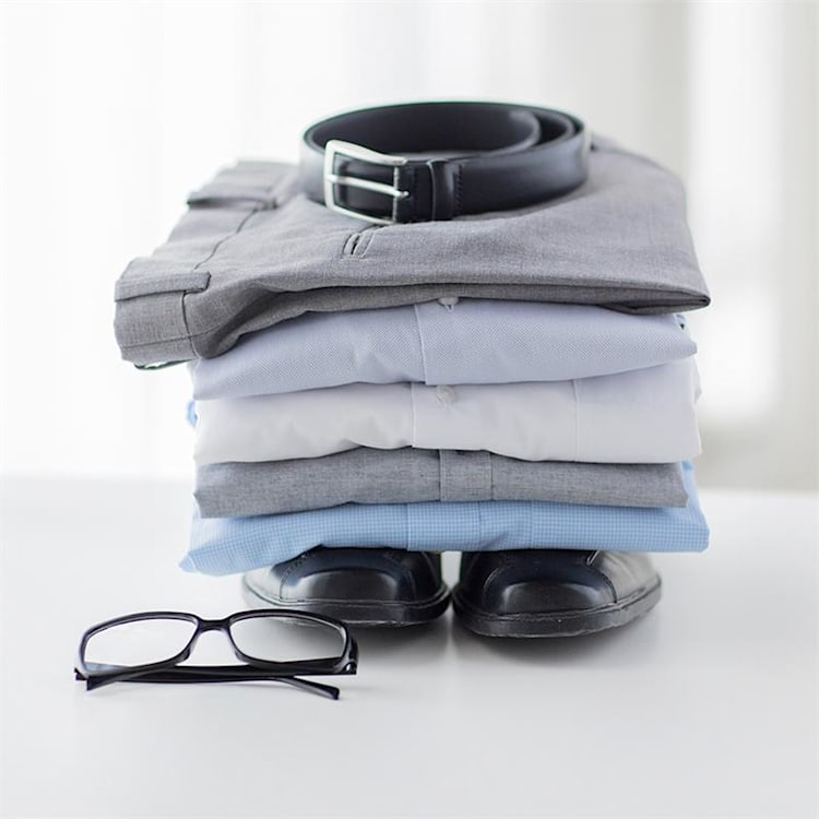 ShirtButler Pro Repuesto Pantalones Accesorio nylon blanco