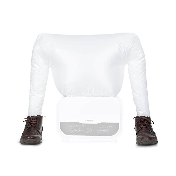 ShirtButler Pro utbytes-shoes tillbehör skotork nylon vit