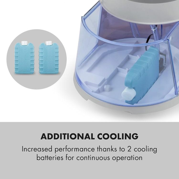 Skyscraper Ice 4-in-1 Air Cooler Fan Air Purifier Humidifier 210 m³ / h 30 W Oscillation Grey Grey