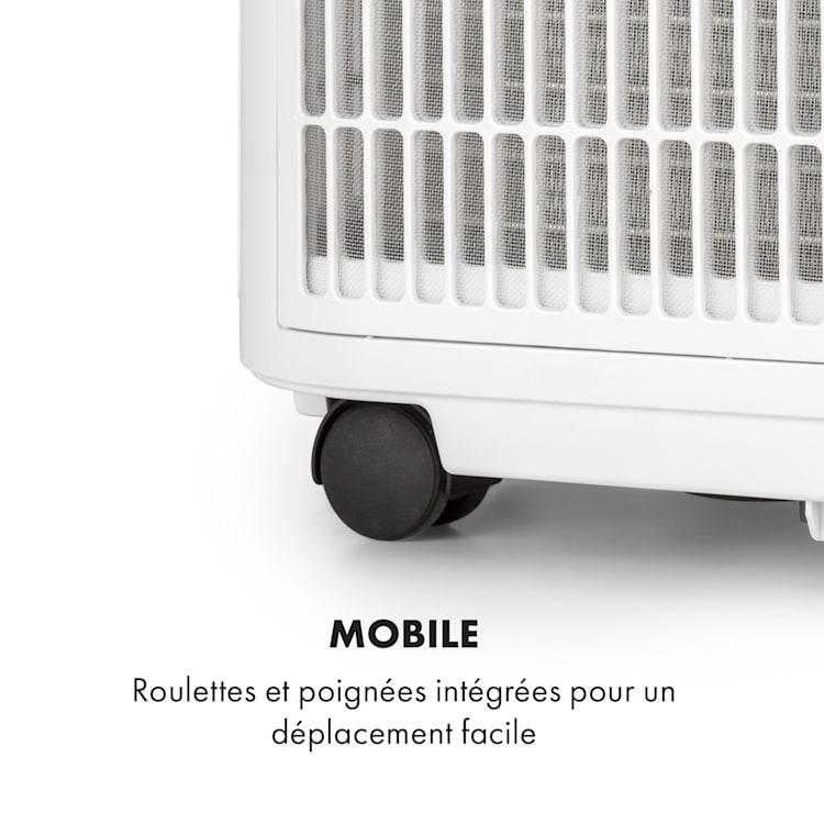 Kraftwerk Smart 12K climatiseur mobile 12000 BTU/3,5 kW blanc Blanc   12.000 BTU