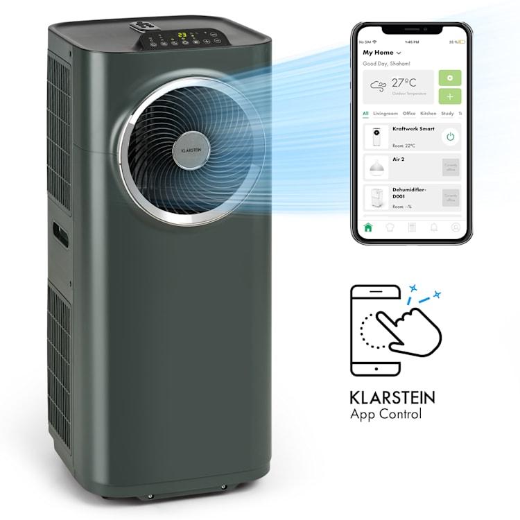 Kraftwerk Smart 10K, légkondicionáló, 10 000 BTU, irányítás alkalmazás által, antracit Antracit | 10.000 BTU