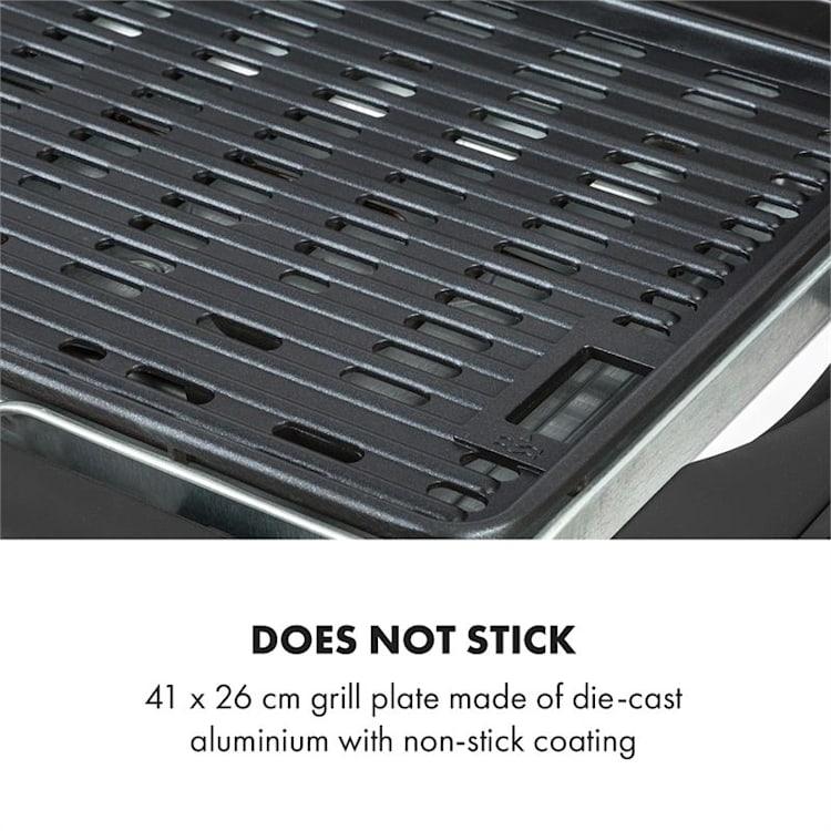 Dr. Beef Pro elektrische barbecue 2000W anti-aanbaklaag zijtafels