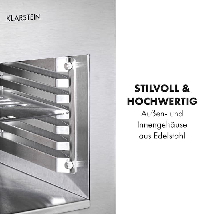 Hannibal Hochtemperaturgrill Indoor 2.200W 850°C Edelstahl silber Silber