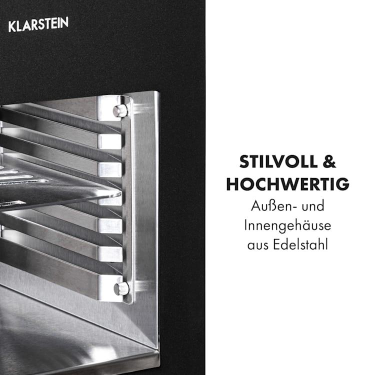 Hannibal Hochtemperaturgrill Indoor 2.200W 850°C Edelstahl schwarz  Schwarz