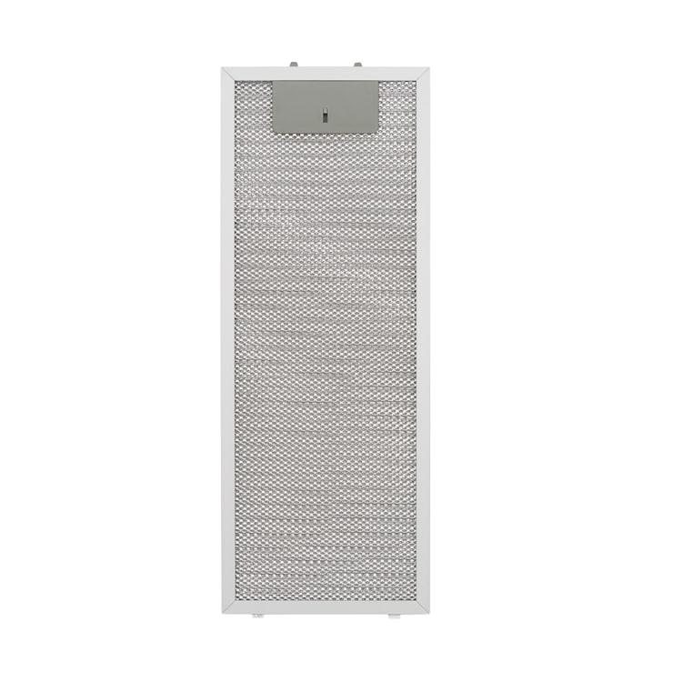 Paolo 52, алуминиев филтър за мазнини, 16,8 x 44 см, резервен филтър