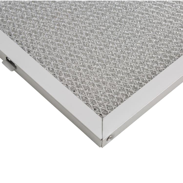 Filtre à graisse en aluminium pour hotte  Hektor Eco , 27,2 x 16,2 cm