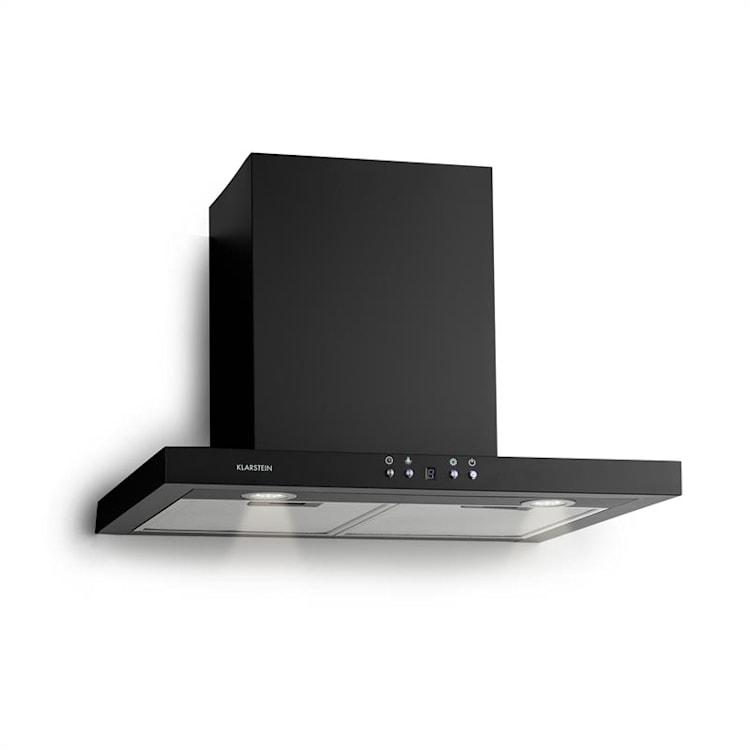 Limelight Dunstabzugshaube 60cm Wandhaube 600m³/h schwarz Schwarz | 60 cm