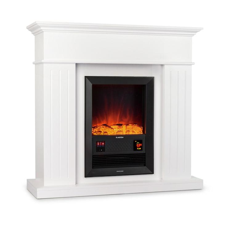 Chamonix Electric Fireplace Fan Heater 2000W Weekly Timer Remote Control White