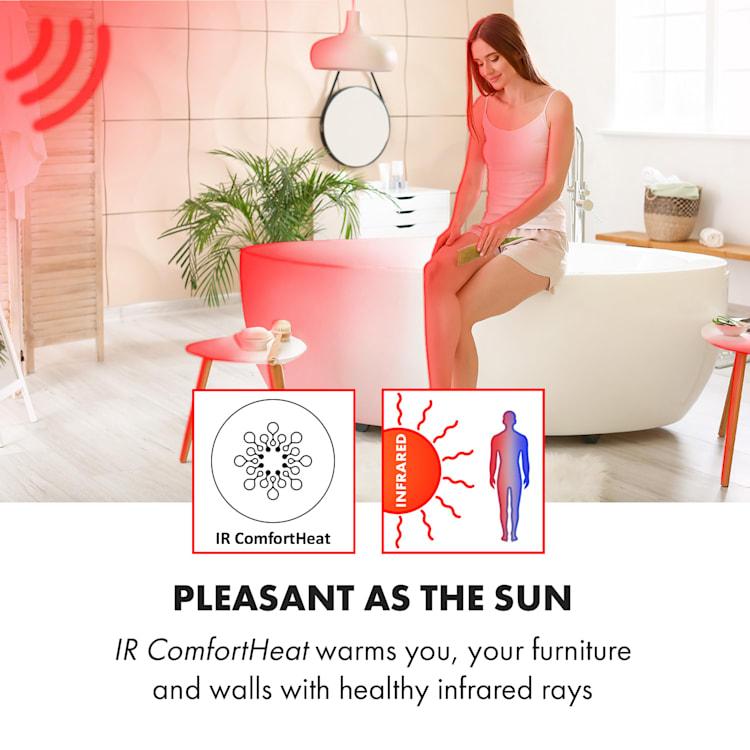 Hot Spot Crystal Spotless Smart, infračervený ohrievač, 750 W, aplikácia, biely Biela