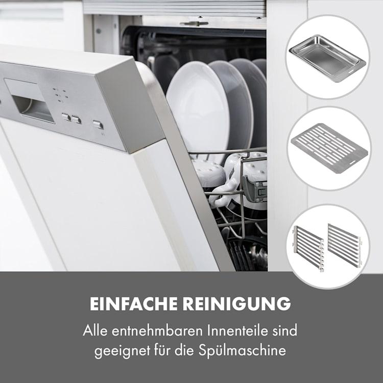 Steakreaktor Core Indoor Grillgerät Hochtemperaturgrill 2100W 800°C  Einstichthermometer