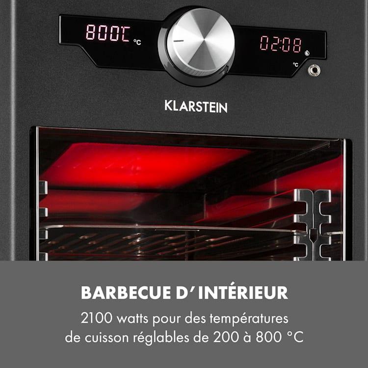 Steakreaktor Core hoge-temperatuur-grill 2100W 800°C steekthermometer