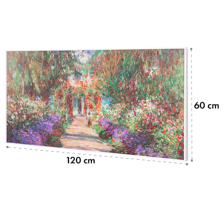 Wonderwall Air Art Smart, инфрачервен нагревател, 120 х 60 см, 700 W, приложение, градински път 120 x 60 cm / Design: Garden Path