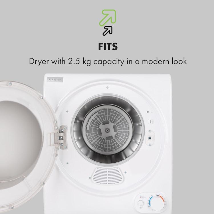 Jet Set 2500 Secadora de ropa por condensación 850W EEC C 2,5kg 50cm Blanca Blanco