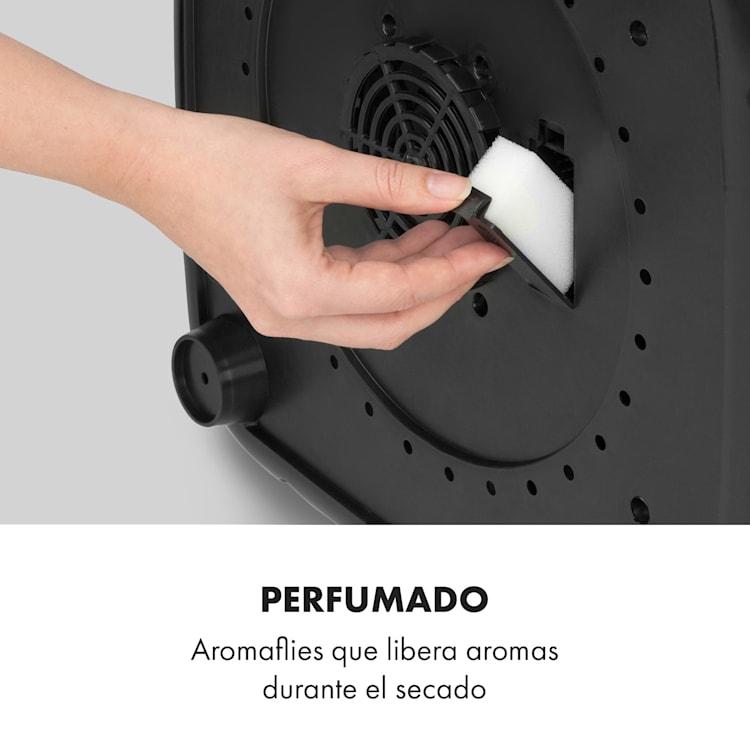 Zap Dry Secadora de ropa 820W 50l Panel de control táctil Indicadores led  Gris