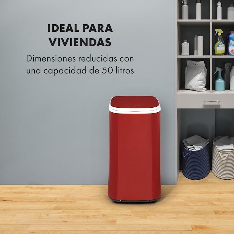 Zap Dry Secadora de ropa 820W 50l panel de control táctil indicador LED color rojo  Rojo