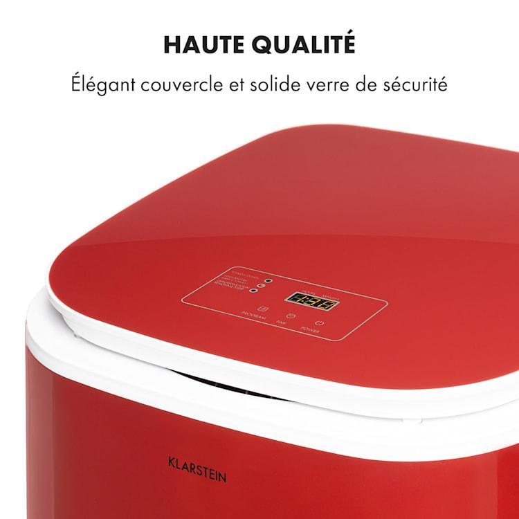 Zap Dry Sèche-linge 50 litres 820W panneau de commande tactile rouge Rouge