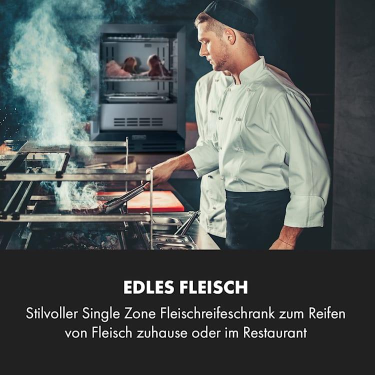 Steakhouse Pro Fleischreifeschrank 1 Zone 98 Ltr 1-25°C Touch Edelstahltür