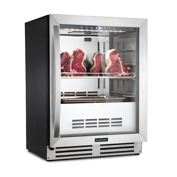 Steakhouse Pro, szafa do sezonowania mięsa, 1 strefa, 98 litrów, 1 - 25 °C, panel dotykowy, stal nierdzewna