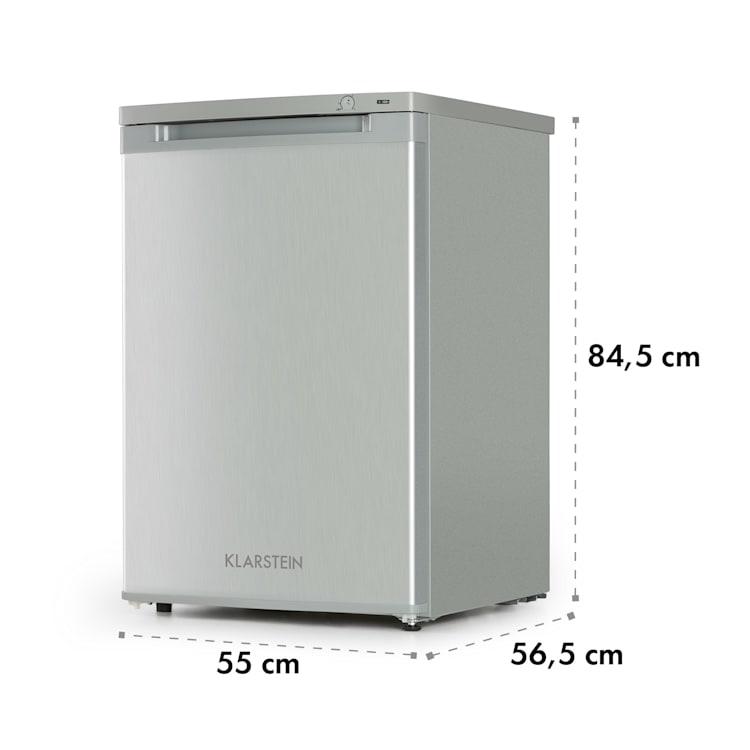 Garfield XXL Eco, mraznička, 81 l, A++, 3 boxy, termostat Stříbrná