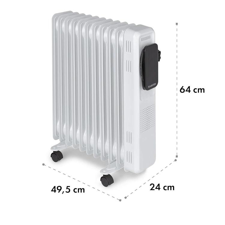 Thermaxx Elevate Smart, uljni radijator, 2720 W, 7 - 35 ° C, 24 sata timer, bijela Bijela