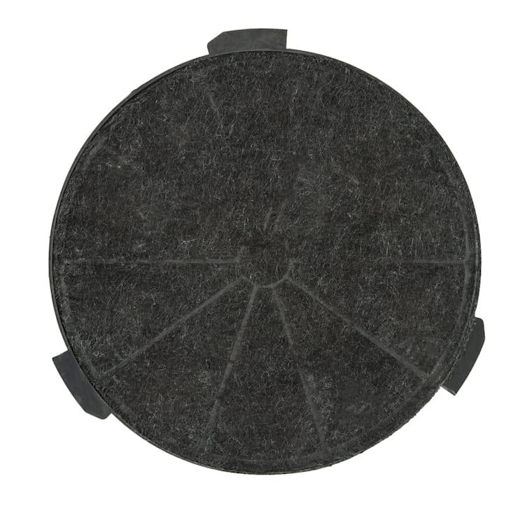 Aktivkohlefilter für Amelia Dunstabzugshauben Ersatzteil 24 x 2 cm (Ø x H) Umluftbetrieb