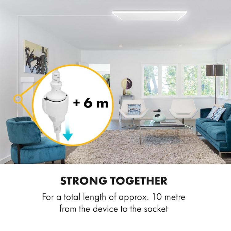 Midnight Sun plafond-infrarood verwarming 6 meter verlengsnoer 6 m